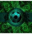 Soccer design background vector image