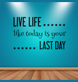 inspirational quote wall decal 0902 vector image vector image