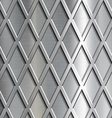 Steel geometrical background vector image