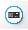 power supply icon symbol premium quality isolated vector image