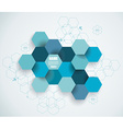 Abstract technology communication design with vector image vector image