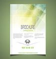 brochure template design 2806 vector image