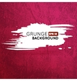 Grunge vine background with splash banner vector image