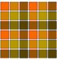 Orange clay marsh check plaid seamless pattern vector image
