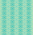 Sky blue flower seamless pattern background vector image