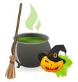 cauldron vector image