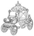 Cinderella Fairy Tale Pumpkin Carriage vector image vector image