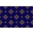 dark blue seamless geometric texture vector image vector image