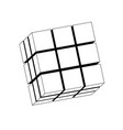 cube of cubes vector image