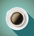Icon coffee Stock vector image