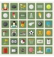 big sports icon set vector image