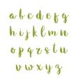 Hand drawn alphabet vector image vector image