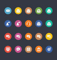Glyphs Colored Icons 15 vector image