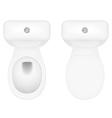 toilet bowl 06 vector image