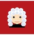 Cute Judge vector image