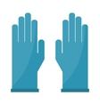 Gloves cartoon isolated on vector image
