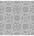 gray paisley pattern vector image