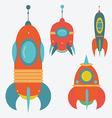 rockets vector image vector image