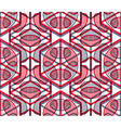 Colored abstract interweave geometric seamless vector image