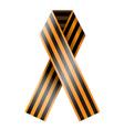 Victory Day Ribbon vector image vector image