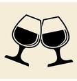 drink design over white background vector image