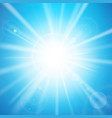 abstract blue background with sunlight 001 vector image