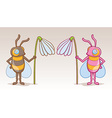 Bee Character vector image