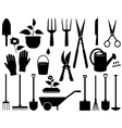 isolated garden tools vector image