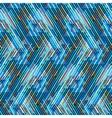 Striped chevron vintage pattern vector image