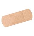 Medical adhesive bandage vector image