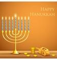 Hanukkah Background vector image