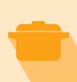 Pot Icon vector image