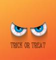 Spooky Halloween background vector image vector image