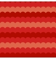 Red waves background seamless wave pattern vector image
