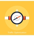 Traffic Optimization vector image