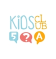 Kids Land Playground And Entertainment Club vector image