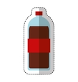 bottle drink isolated icon vector image