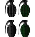 grenades vector image vector image