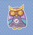 aviator owl vector image