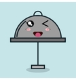 Catering food service cartoon isolated icon design vector image