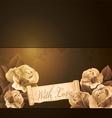 Grunge vintage background vector image