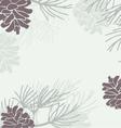 Pinecone Background vector image