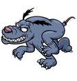 Zombie dog vector image