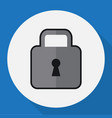 of procuring symbol on lock vector image