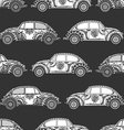 Seamless Pattern of Vintage car vector image