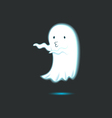 Cute Ghost Single 8 vector image