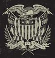 Hand Drawn American Eagle vector image