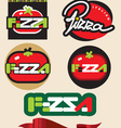 pizza4 vector image vector image