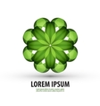 nature logo icon sign emblem template vector image
