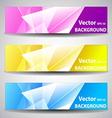Website or Banner Background Header vector image